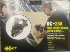 Exakt DC280 Hand Held Circular Saw Tile Wood Cutter Metal Plastic Aluminum - $108.90