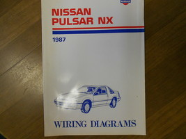 1987 Nissan PULSAR NX Wiring Service Repair Shop Manual Factory OEM 87 - $39.72