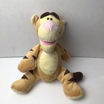 Disney Baby Pastel Tigger Rattle Plush Winnie The Pooh Nursery - $14.84