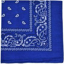 """12 Pack Premium Cotton Head Wrap Scarf Bandana Multiple Colors 22"""" X 22"""" image 14"""
