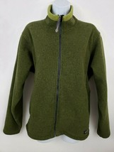 REI Women's Green Fleece Full-zip Jacket Size XL - $34.64