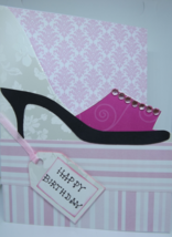 Woman's B'day card - $7.00