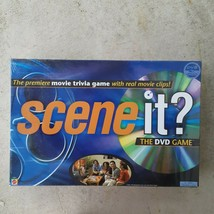 MATTEL BlueSCENE IT Movie Trivia DVD Game 2003 Real Movie Clips SEALED N... - $14.84