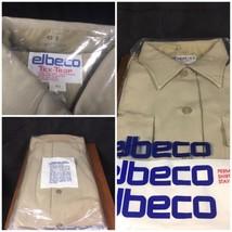 NEW Elbeco Tex-Trop Perma Press Uniform Shirt Size 40 S Tan Short Sleeve - $14.99