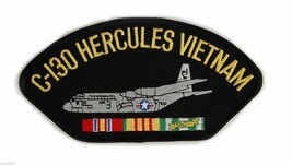 "C-130 HERCULES VIETNAM VETERAN EMBROIDERED 6"" SERVICE RIBBON MILITARY  P... - $17.14"