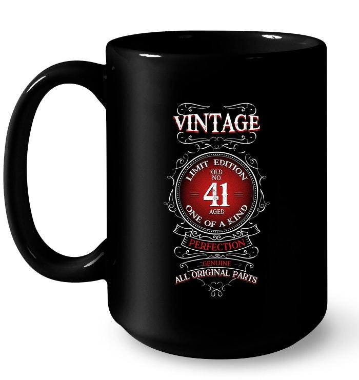 Vintage 1977 41 Years Old Birthday Gift Coffee Mug