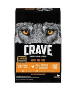 Crave Grain Free With Protein From Chicken Dry Adult Dog Food, 22 Pound Bag - $55.01