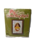 Sunset Designs Jiffy Needlepoint Kit 5616 Quilt Pattern Photo Frame 6.5 ... - $12.73