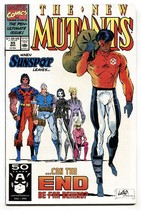 NEW MUTANTS #99 comic book 1991-Marvel-1st FEARL + SHATTERSTAR - $22.70