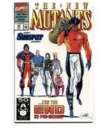 NEW MUTANTS #99 comic book 1991-Marvel-1st FEARL + SHATTERSTAR - $22.70