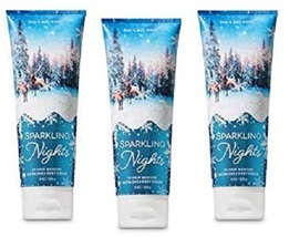 Bath & Body Works Sparkling Nights Ultra Shea Body Cream 3 Pack - $29.99