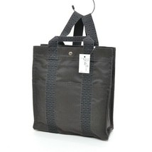 279625 Hermes Auth daypack backpack backpack ale line ad MM gray - $450.50