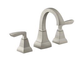 Kohler Kallan 8in. Widespread 2Handle Bathroom Faucet in Vibrant Brushed Nickel - $109.00