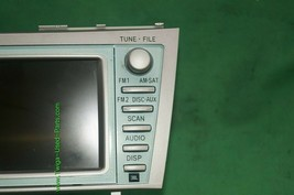 07 08 09 Toyota Camry Hybrid Denso Navigation CD Player Radio 86120-06460 image 2