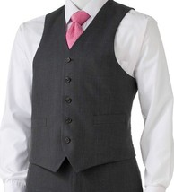 Chaps by Ralph Lauren Classic Suit Vest Suit Separates Grey Gray Plaid M - $59.99