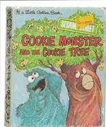 ORIGINAL Vintage 1977 Cookie Monster Cookie Tree Sesame Street Golden Book - $14.84