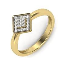 Princess Design Round Cut Swarovski Diamond Ring Gift For Mother Engagement Ring - $79.99