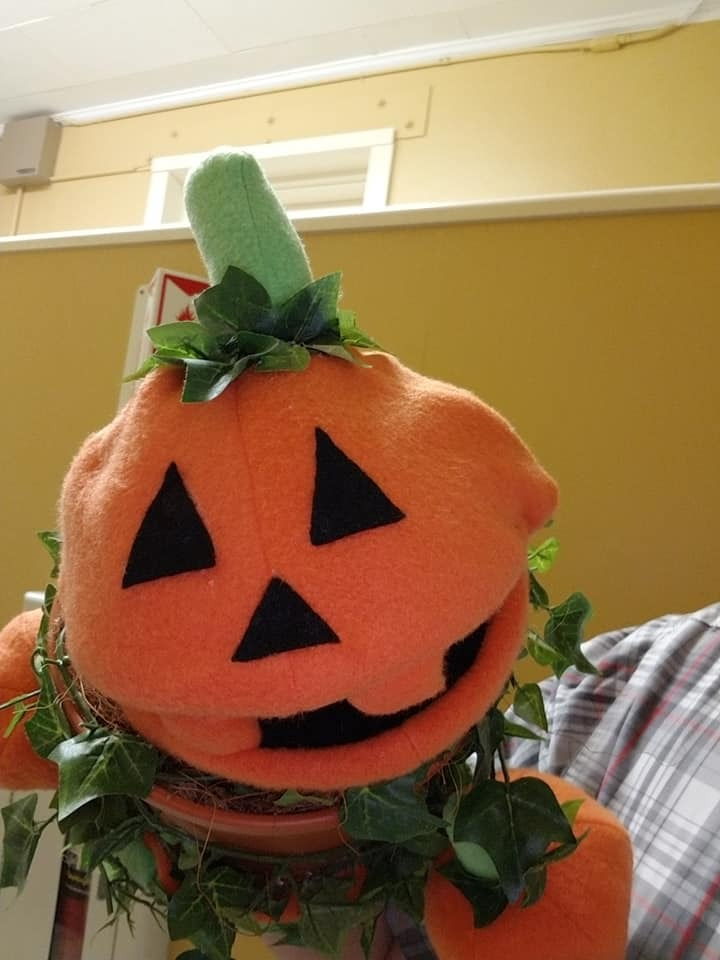 """MADE TO ORDER: Professional """"Jack O'Lantern"""" Muppet Style Ventriloquist Puppet"""