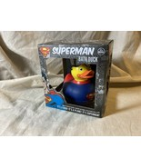 """Brand New DC Comics """"SUPERMAN BATH DUCK"""" Floating Soft Rubber Toy FREE S... - $11.87"""