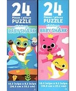 Pinkfong Baby Shark - 24 Pieces Jigsaw Puzzle (Set of 2) - $13.85