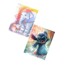 """Diy 5D Painting By Number Kits For Adults And Kids, 2 Pack 16""""X12"""" Disne... - $31.99"""