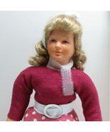 Dressed Lady Doll 1508 Caco Pink Circular Skirt Flexible Dollhouse Minia... - $40.37