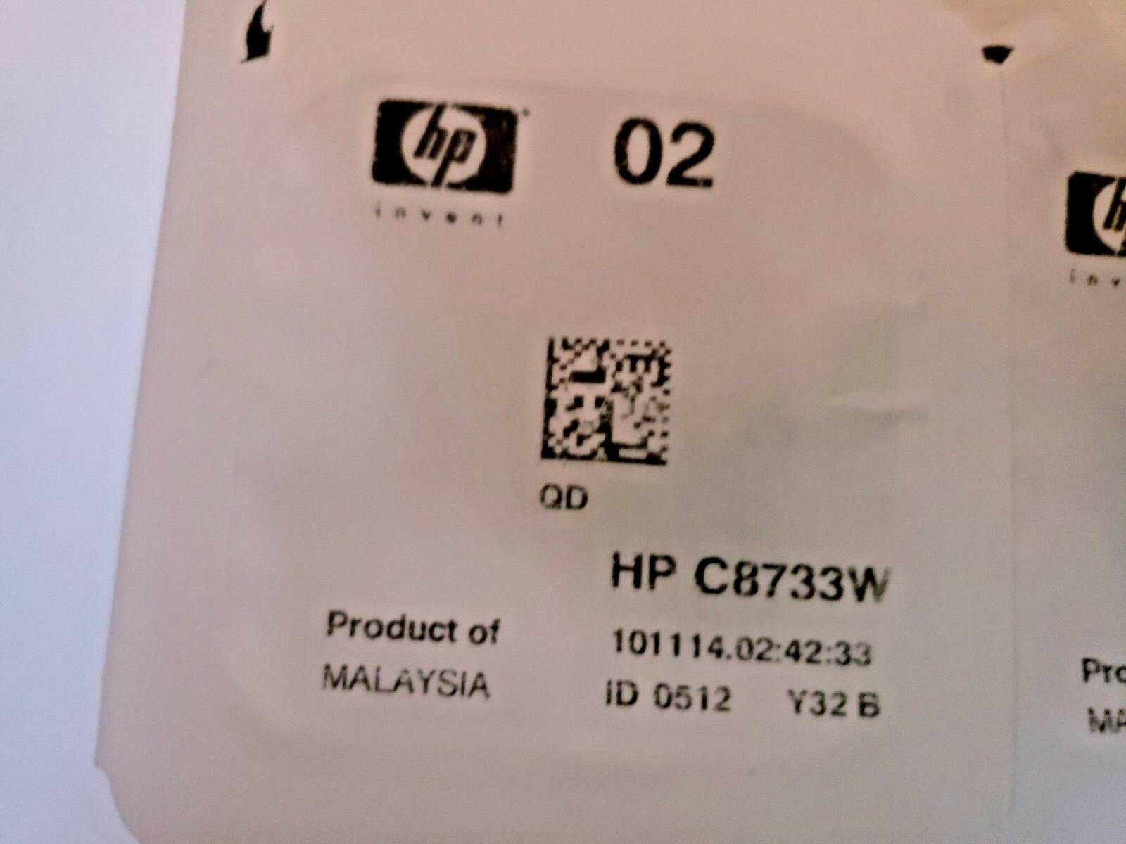 Genuine HP 02 Ink Cartridge Photo Value Pack C8733W C8734W C8732W CB283W image 2