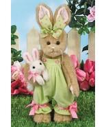 "Bearington Bears ""BELLA & BUNNI"" 14"" Plush Bunny- #420444- NEW- 2018 - $44.99"