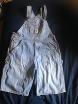 GAP VTG Women's  100% Cotton GAP Short Overalls SZ XL 1990s - $66.83