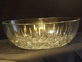 Etched Glass Serving Bowl AA19-LD11940 Vintage image 7