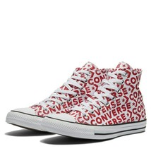 CONVERSE ALL STAR CHUCK TAYLOR HI TRAINERS SPORTS MEN SHOES RED PRINT SZ... - $69.29