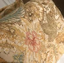 Pottery Barn Grace Duvet Cover Set King 3 Euro Shams Floral Linen 4pc Rare - $228.00