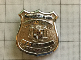 Obsolete State Of Maryland Special Police Badge - $125.00