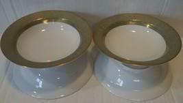 Sango Versailles 4 Rim Fruit Bowls Pattern # 3632 Dessert / Sauce - $21.77