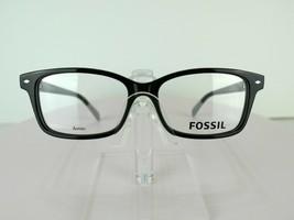 Fossil FOS 6047 (807) Shiny Black 50 X 15 140 mm Eyeglass Frames Eyewear - $47.96