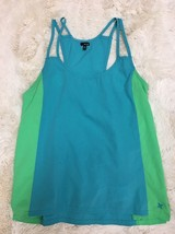 Hurley Blue Green Strappy Sleeveless Top Size Small - $19.80