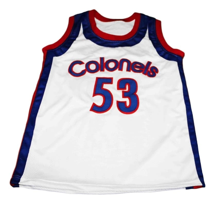 Artis Gilmore #53 Colonels Kentucky New Men Basketball Jersey White Any Size