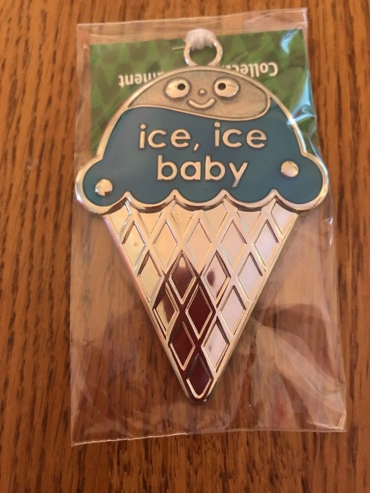 "Collectible Tree Ornament Cute ""Ice Ice Baby "" Ships N 24h"