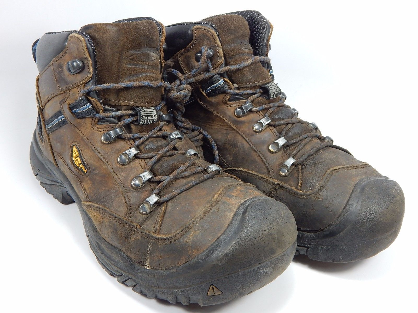 Keen Braddock Waterproof Utility Men's Steel Toe Work Boots Size 10 M (D) EU 43