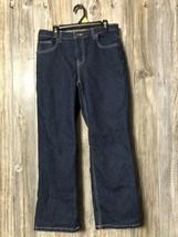 Arizona Jeans Boys 12 Husky Original Darkwash - $16.82