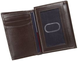 Tommy Hilfiger Men's Premium Leather Credit Card ID Wallet Trifold 31TL11X033 image 12