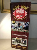 Kan Jam Hard Count Fast Paced Football Game Set w/ 2 Goals NEW factory s... - $29.70