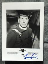 Leonard Nimoy Hand Signed Autograph With Lifetime Guarantee - $150.00