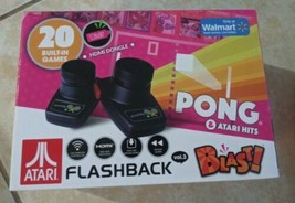 Atari Flashback Pong Retro Gaming System with 20 Games & 2 Wireless Controllers - $17.81