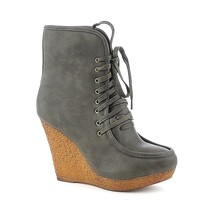 Snow Winter Fashion Booties High wedge Heels Platform ankle Boots Size 5... - £13.42 GBP