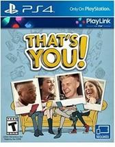 That's You - Playlink PLAYSTATION 4 Neuf Scellé PS4 Vidéo Jeu