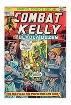 Combat Kelly And His Deadly Dozen 7 Marvel 1973 VG FN - $4.60