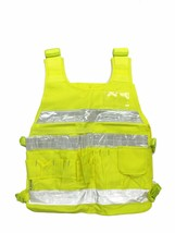 REFLECTIVE YELLOW SAFETY VEST CY01 ANSI CLASS 2 with Reflective Strips