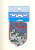 "Vintage Voyager Mt. Rushmore South Dakota SD Tourist Souvenir 2.75"" Patch - $9.55"