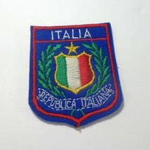 "Italia Italy 2.5"" x 2"" Felt Retro Souvenir Tourist Patch - $8.86"